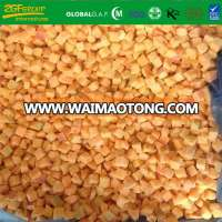 Frozen Fruits IQF Diced Apricot Size 10*10 mm