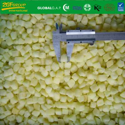 Frozen IQF Diced Apple Size 15*15 mm