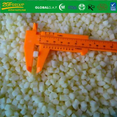 Grade A Frozen IQF Diced Apple 10*10 MM