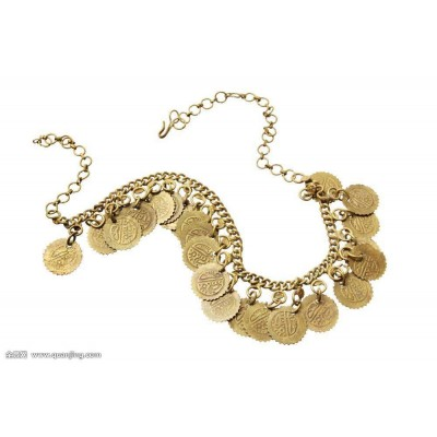 Chinese ancient coin necklace