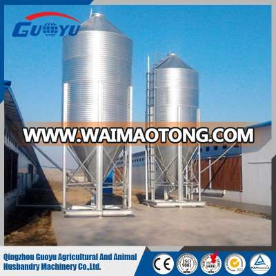 2016 Newest Hotsale Galvanized Steel Silo For Poultry Feed and Farm Grain Storage