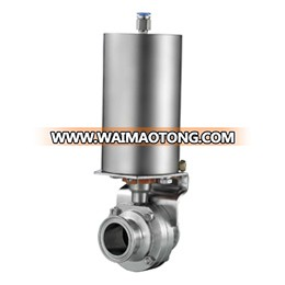 Sanitary Pneumatic Triclamp Butterfly Valves (NT-PBV)