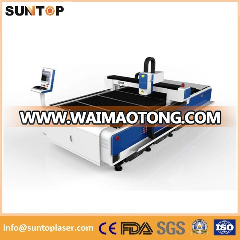 700W Fiber Laser Cutting Machine with Germany Ipg Fiber Laser, Lifetime More Than 100, 000 Hours