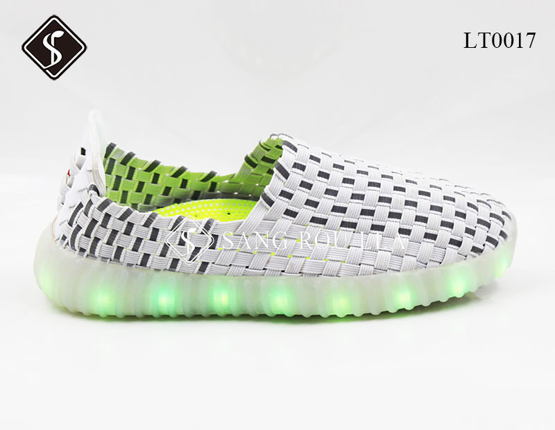 Kids and Adult LED Weave Sneaker Shoes