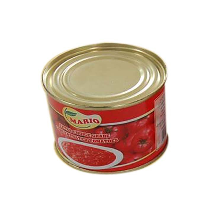 Aseptic Canned Tomato Paste 210g