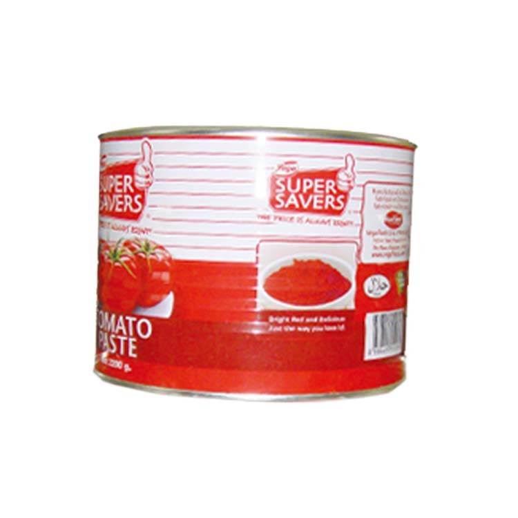 Aseptic Canned Tomato Paste 2.2kg