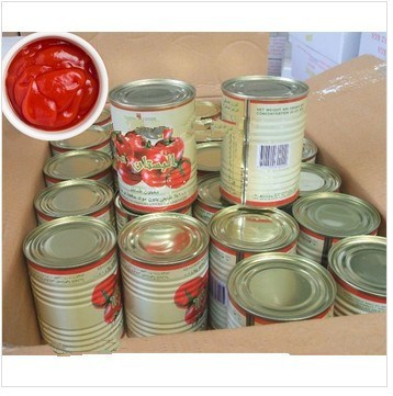 Canned Chopped Tomatoes, Canned Tomato Paste Brix28-30%