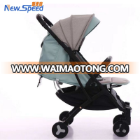 New design babies strollers one button floding baby pram light baby strollers