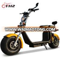 eec electric motorcycle scooter with big wheels