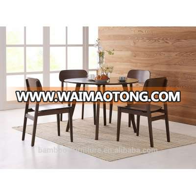 Bamboo Modern Dining room Chairs 100% Bamboo Material Hotel and restaurant used dining Bamboo Furniture