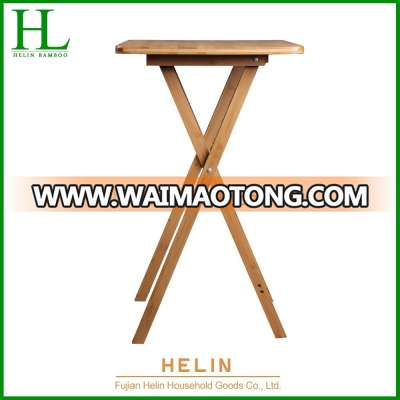 Foldable Bamboo Standing Dining Table
