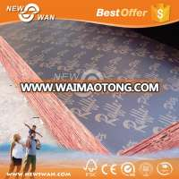 Melamine Glue Poplar Core 18MM Thick Waterproof Film Faced Plywood