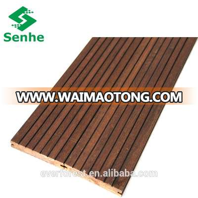 Solid Outdoor Bamboo Decking with Strand Woven Bamboo Decking