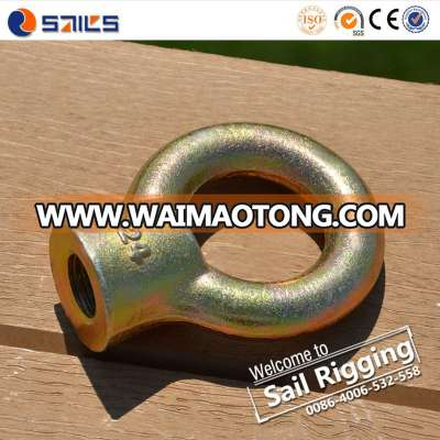 High strenght JIS 1169 M10 galvanized eye nut