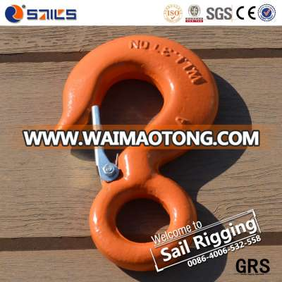 lifting rigging hardware S320 alloy steel eye hook