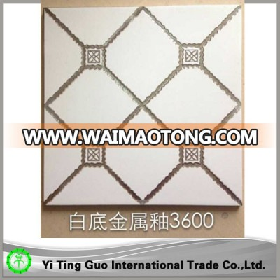 white porcelain bathroom floor tile price