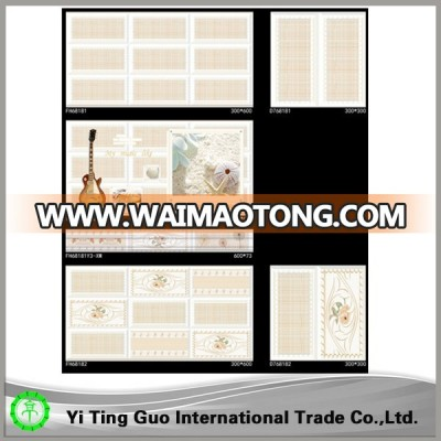 new design bathroom wall digital tiles