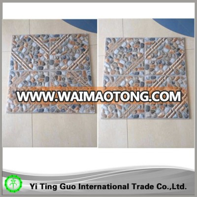 high quality blue bathroom floor tiles