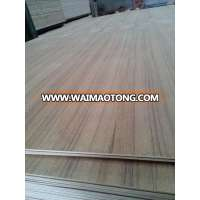 5mm A grade Natural Teak veneer Plywood
