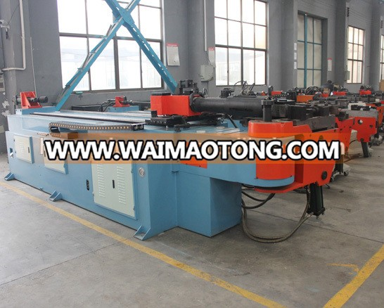 DW50NC exhaust NC hydraulic pipe bending machine/pipe bender with CE