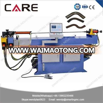 DW50NC Manual feeding hydraulic stainless steel pipe tube bending machine with mandrel ball