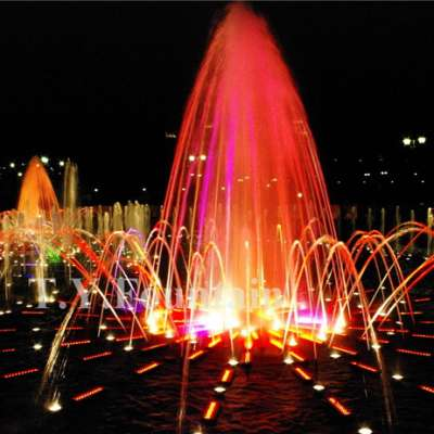 Large Outdoor Music Water Fountain