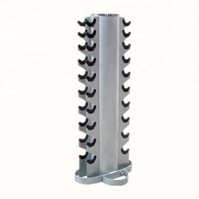 Commercial Fitness Free Weight Gym Body building Equipment 10 pairs Upright Dumbbell Rack BW4003