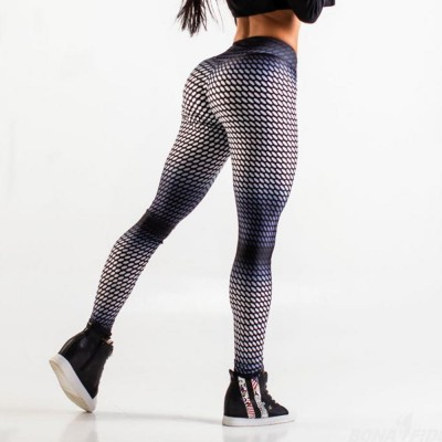 New Fashion Yoga Pants Body Building Fitness Tight High Waisted Gym Yoga Leggings For Women