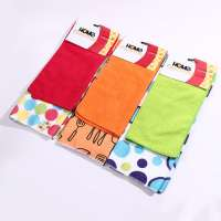 Microfiber Cleaning cloth 2pcs/set 80% polyester 20% polyamide material for kitchen car cleaning cloth