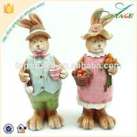 Easter bunny resin Easter rabbit decoration Easter gifts