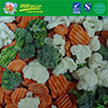 IQF Carrot Cauliflower Broccoli Florets Mixed Vegetables