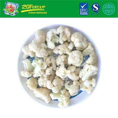 Low price iqf vegetable high quality frozen white organic fresh cauliflower for wholesale