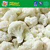 Best selling high quality frozen cauliflower IQF without foreign flavors
