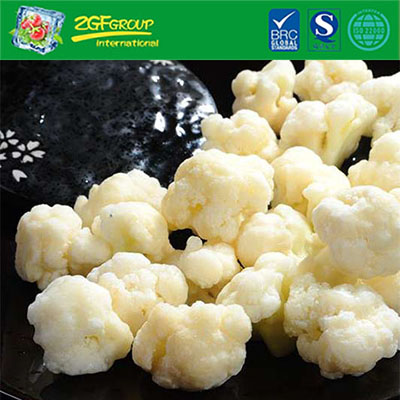 Wholesale IQF processed frozen cauliflower