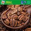 Best Selling Healthy Organic Pecan Nut Kernel,Roasted Pecans With Coffee