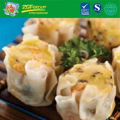 Halal Frozen Food Wholesale Chinese Breakfast Dim Sum Carrot Siew Mai