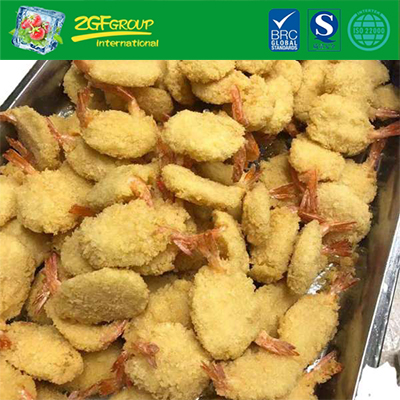 Myanmar Frozen Coconut Breaded Butterfly Shrimp