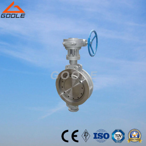 150lb/300lb Stainless Steel Gear Operated Wafer Type Butterfly Valve (GAD373W)