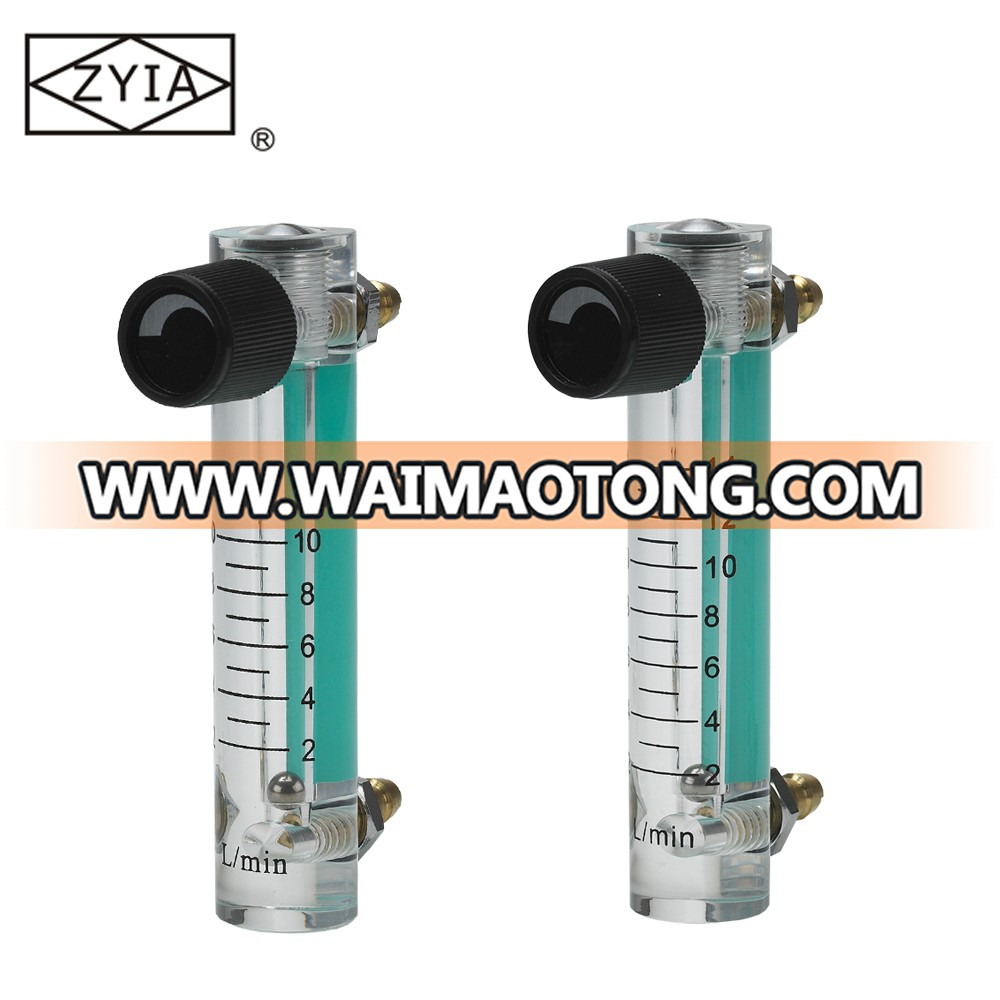 LZM-6T 02 mechanical medical low cost air oxygen regularor  flowmeter