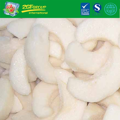 IQF snow pear slices