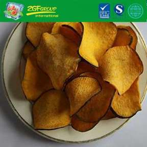 Dried  sweet potato chips