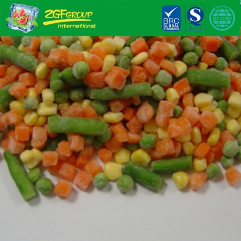 frozen vegetable IQF mixed veg