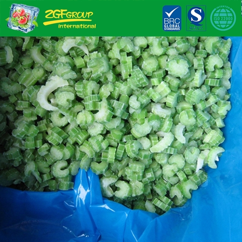 IQF sliced celery 6mm