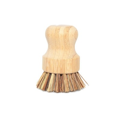 100% natural bamboo wood coconut dish cleaning brush eco friendly bamboo kitchen brush