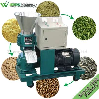 Weiwei factory cheap price poultry fish feed pellet machine cat feed dog pet pellet feed processing machines