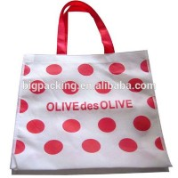 High quality pp woven bag form China factory various colors shopping bags