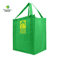 Eco friendly reusable pp non woven tote bag for putting beer or other goods