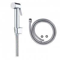 Make my product in china New suit shattaf handle bidet with holder and stainless steel shower