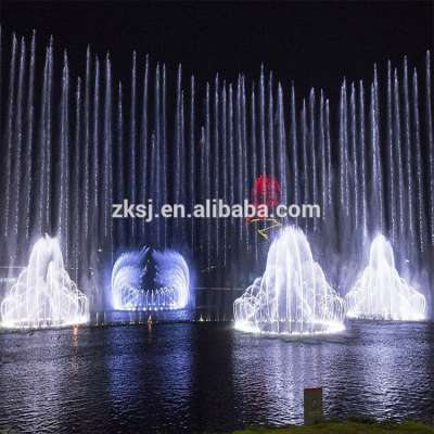 Beijing manufacture led laser floating music water fountain show projector