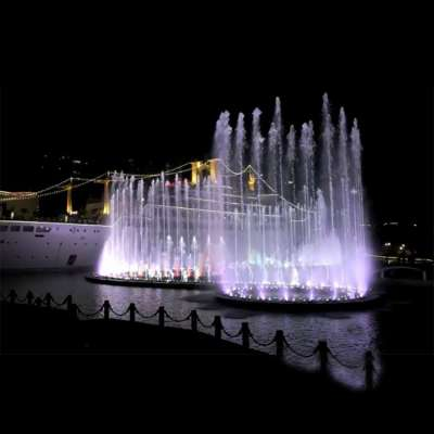 Chinese large space outdoor water landscape music water fountains